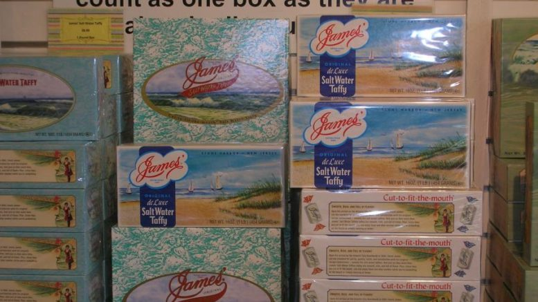 Will Salt Water Taffy Become NJ's State Candy?