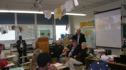 Veterans Visit With Students at Middle Township High School
