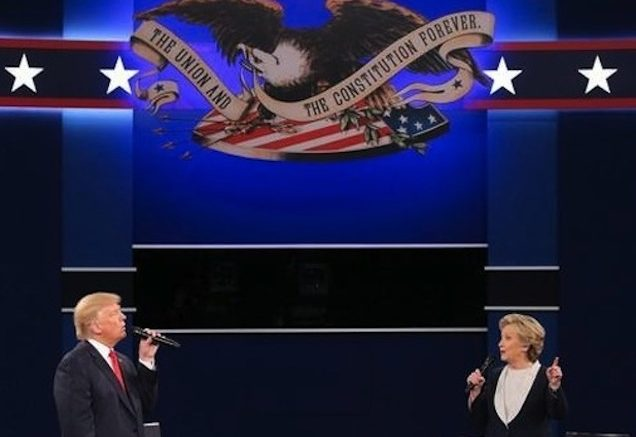The Clinton-Trump Debates -- Round Two