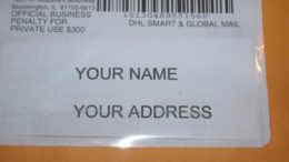 A New Scam Using the IRS and US Postal Service