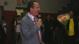 Middle Twp. High School Honors Tom Feraco