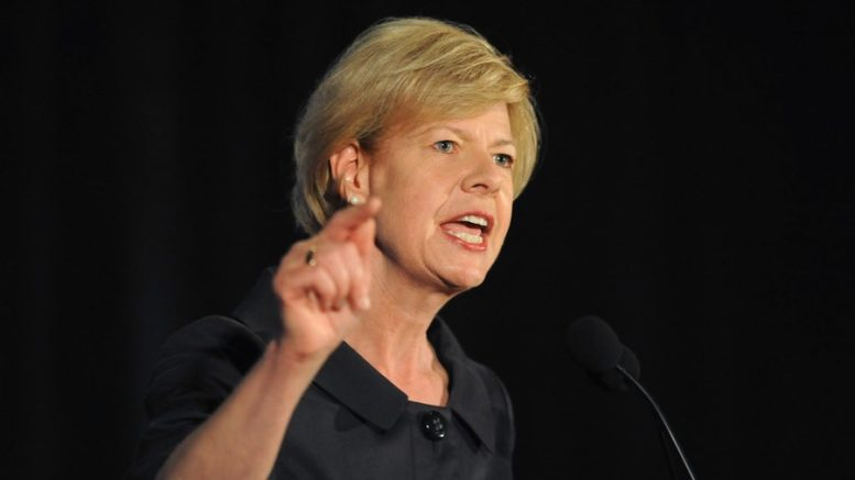 Sen. Tammy Baldwin Calls For Passage of 'Buy America' Legislation