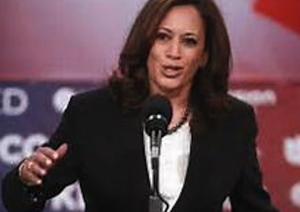 Sen. Kamala Harris Urges Continued Struggle Against 'Trumpcare'